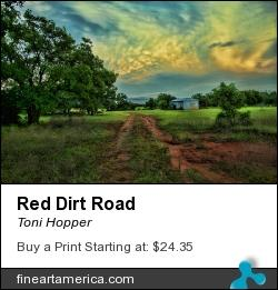 Photographer Toni Hopper Has Red Dirt Road Selected For Juried Show In Denver